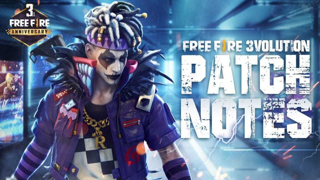 Free Fire Latest Update Patch Notes
