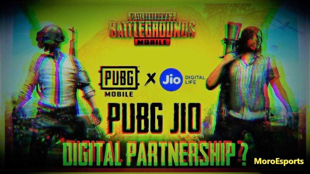 PUBG Mobile Partnership with Jio