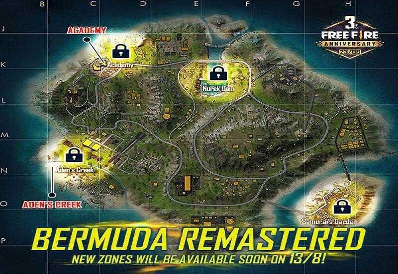 download Bermuda map in Free Fire