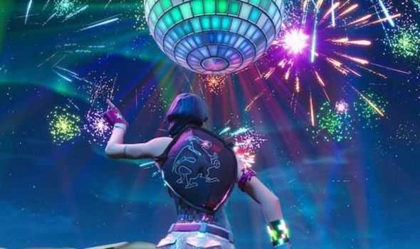 Fortnite New Year Event