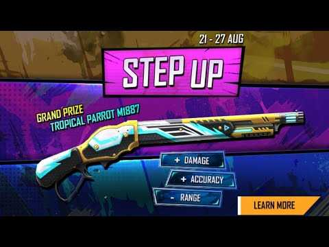 Step Up Event in Free Fire