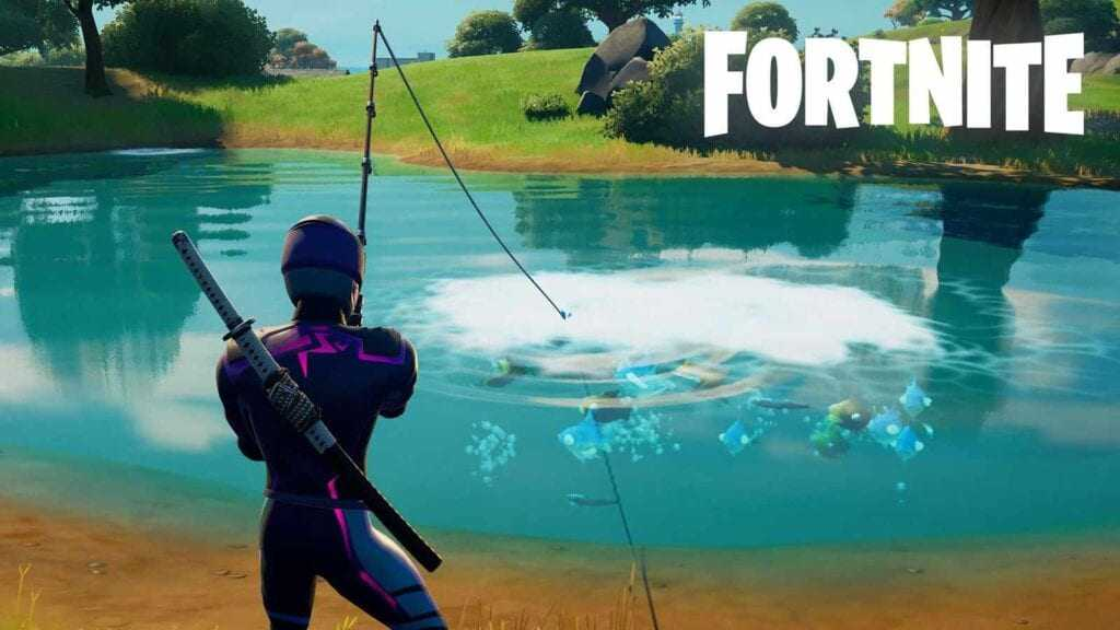 Fortnite Weekly Challenges: Blow Up Fishing Holes Mission