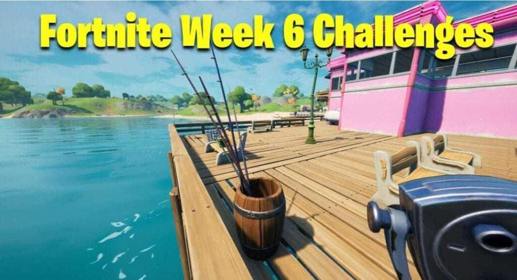 Fortnite week six challenge