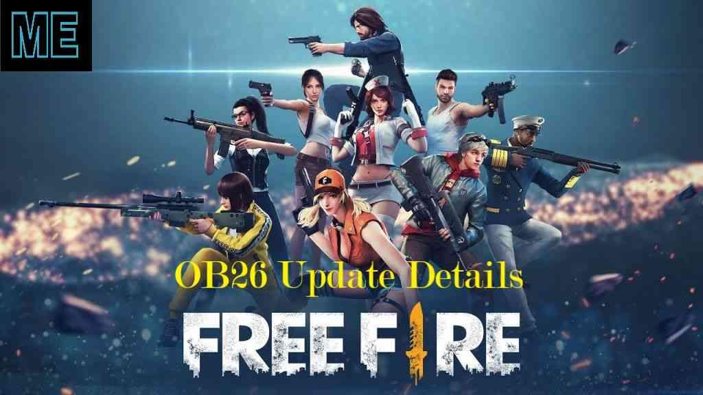 Free Fire OB26 Update