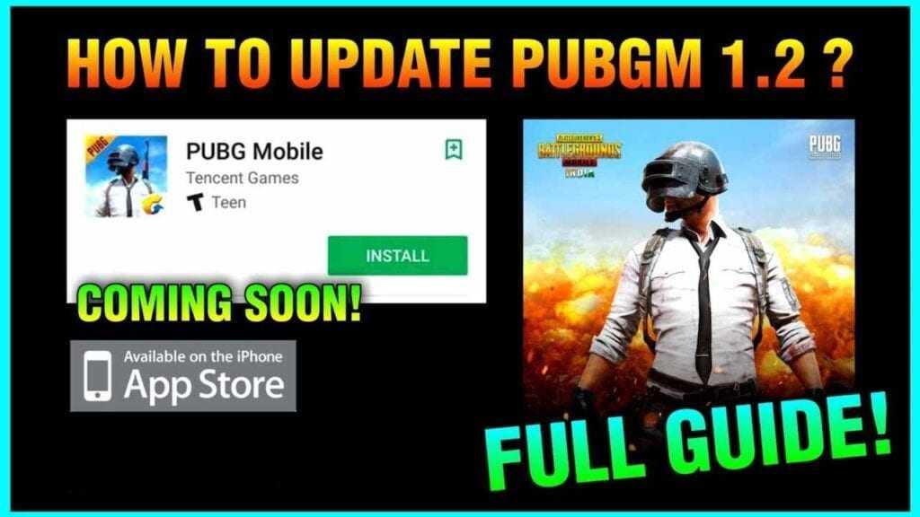 PUBG Mobile 1.2 for iOS/iPhone