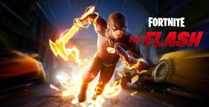 the Flash skin in fortnite