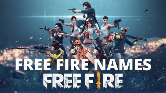 Stylish names in Free Fire