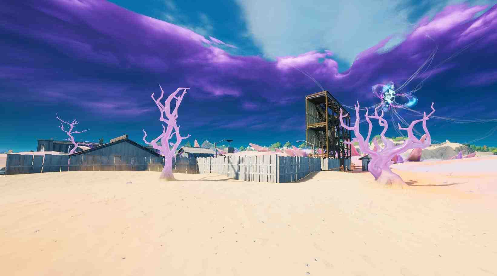 Zero Point and Crystal Trees Location in Fortnite