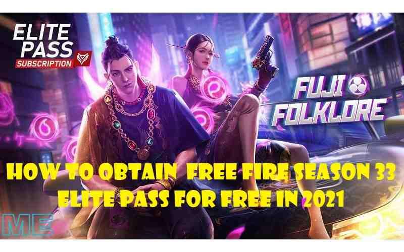 Free Fire Season 33