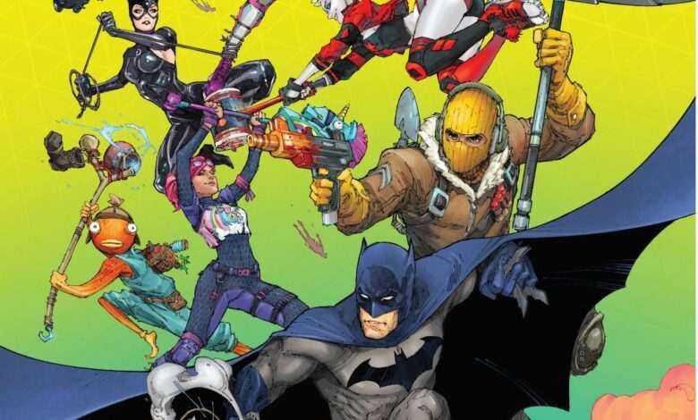 Batman's Next Comic Series is a Fortnite Crossover