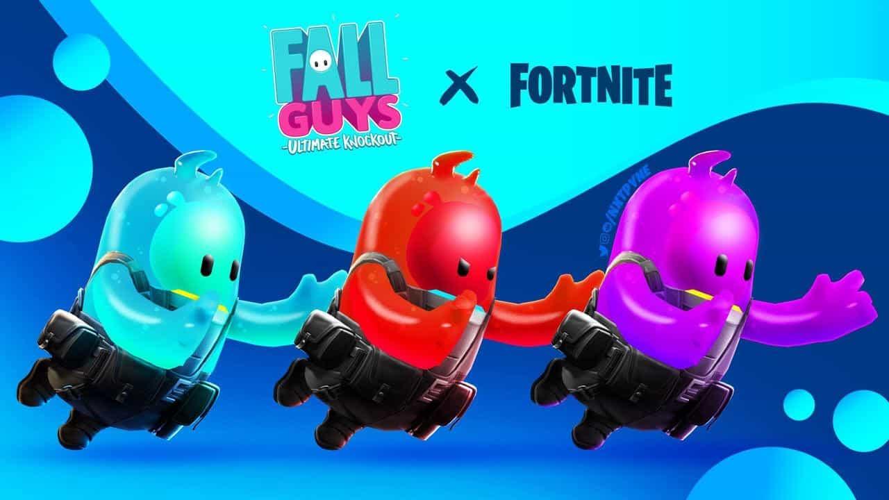 Fortnite x Fall Guys Collaboration