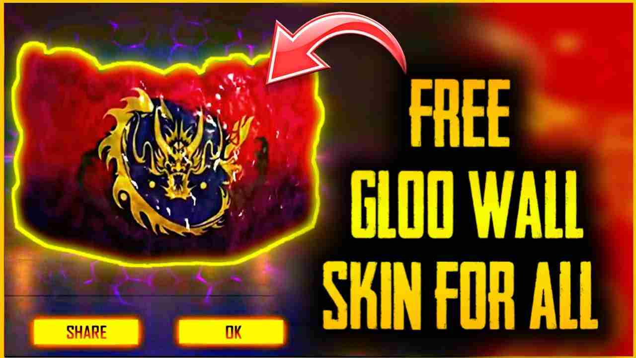 Free Gloo Wall Skins in Free Fire