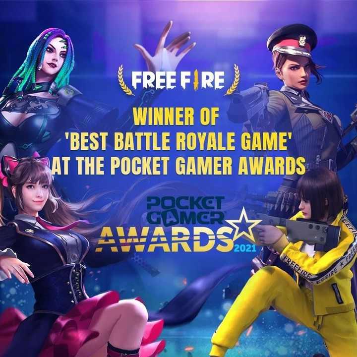 Free Fire - Winner 'Best Battle Royale Game'