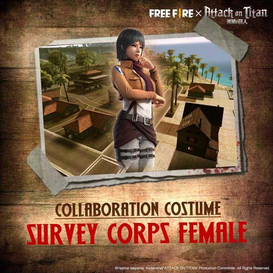 Survey Corps Female Costume