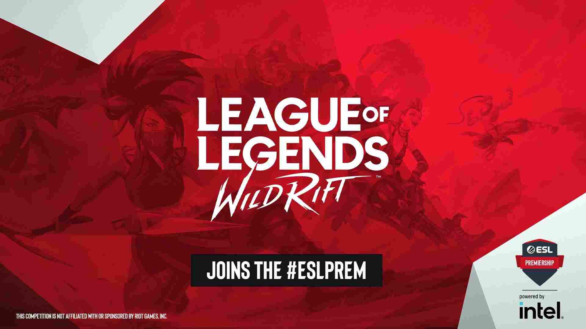 ESL Announces ESL Wild Rift Premiership