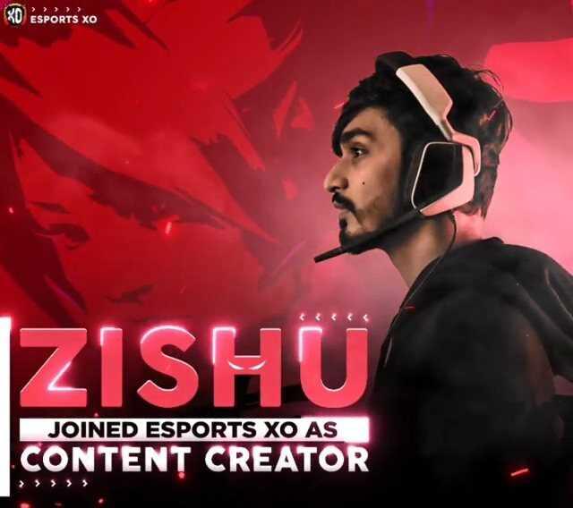 Zishu Joined Esports XO