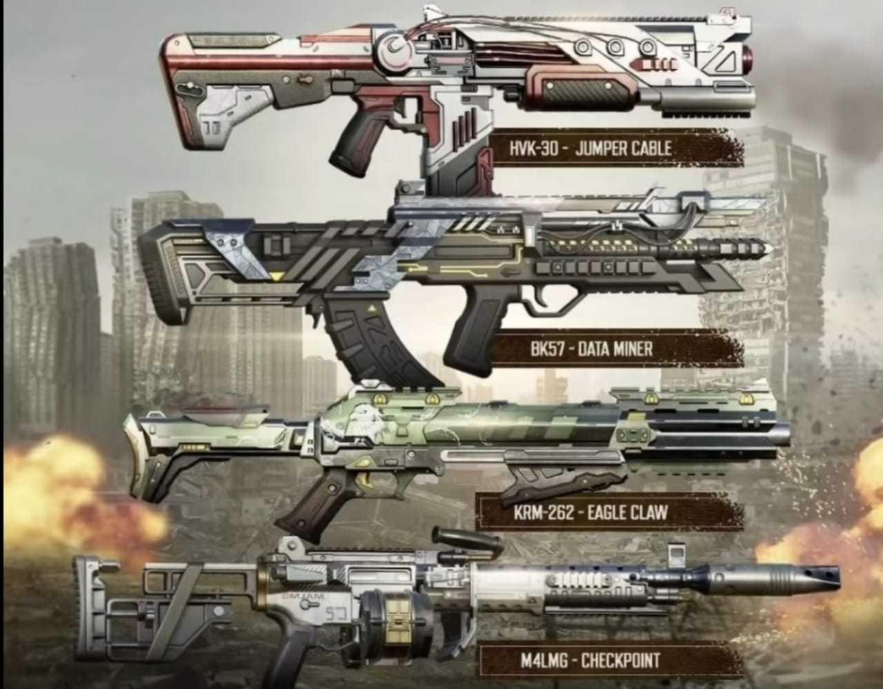 Battle Pass Season 2 - Weapons