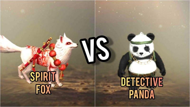 Detective Panda and Spirit Fox