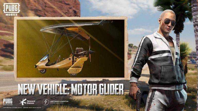 PUBG Mobile 1.3 - Motor Glider