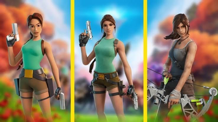 Lara Croft Fortnite