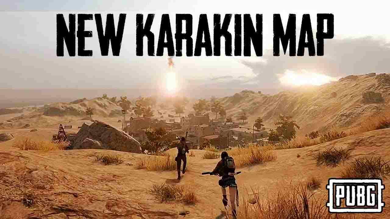 New Karakin Map