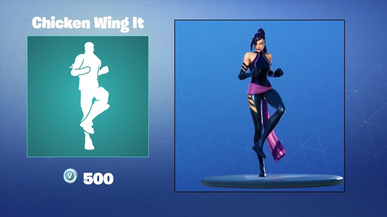Chicken Wing It Emote Fortnite