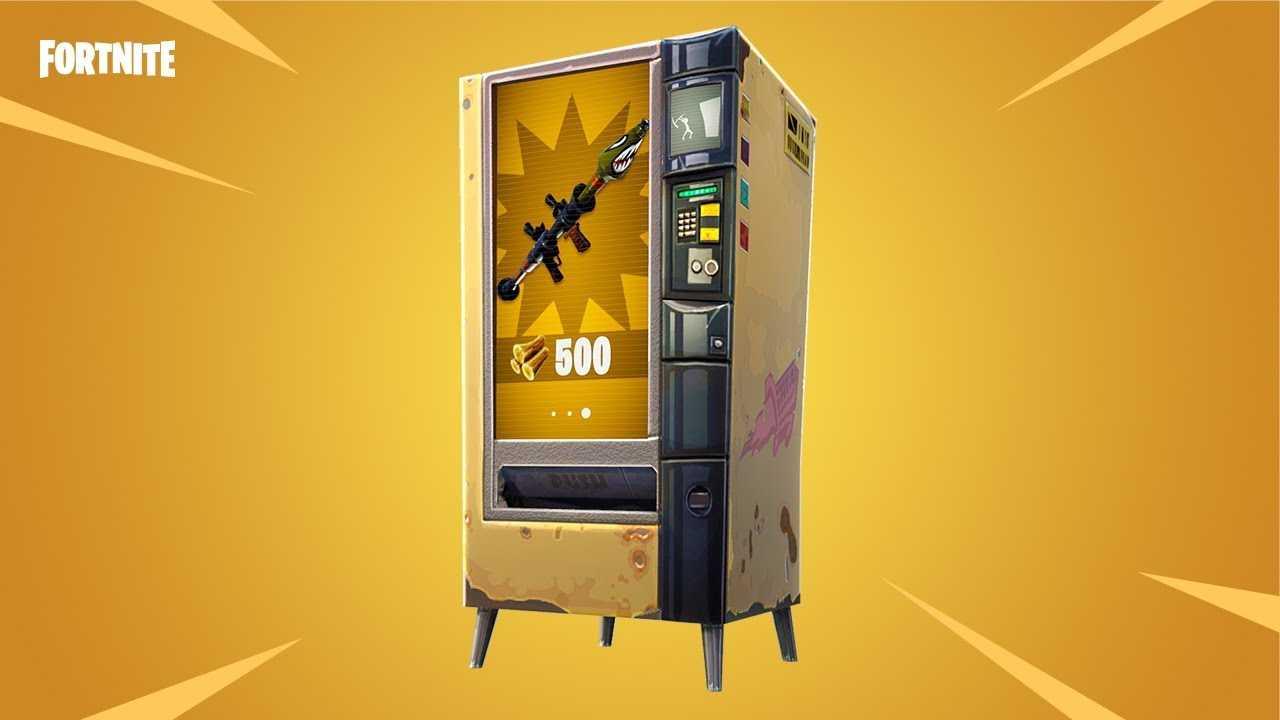Vending Machine in Fortnite