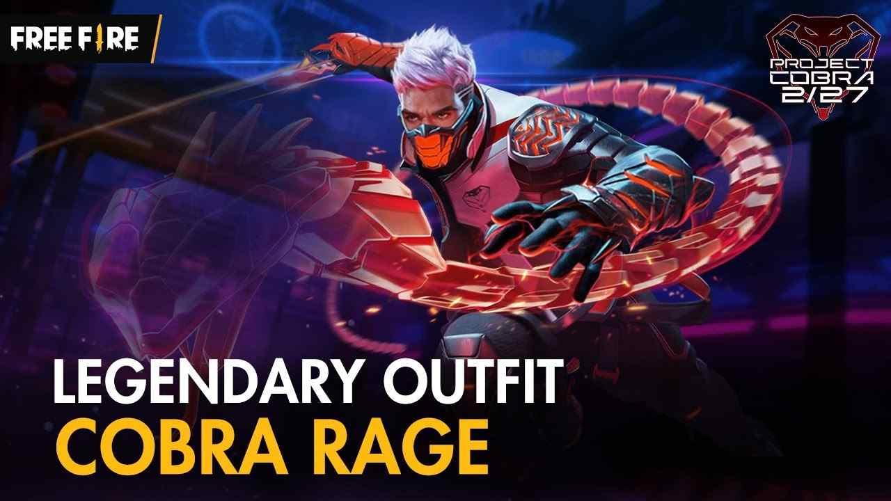 Legendary Cobra Rage Outfit