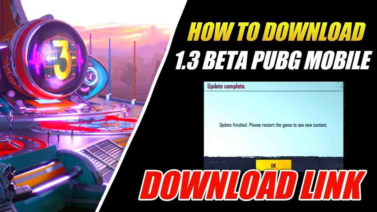 PUBG Mobile 1.3 Beta