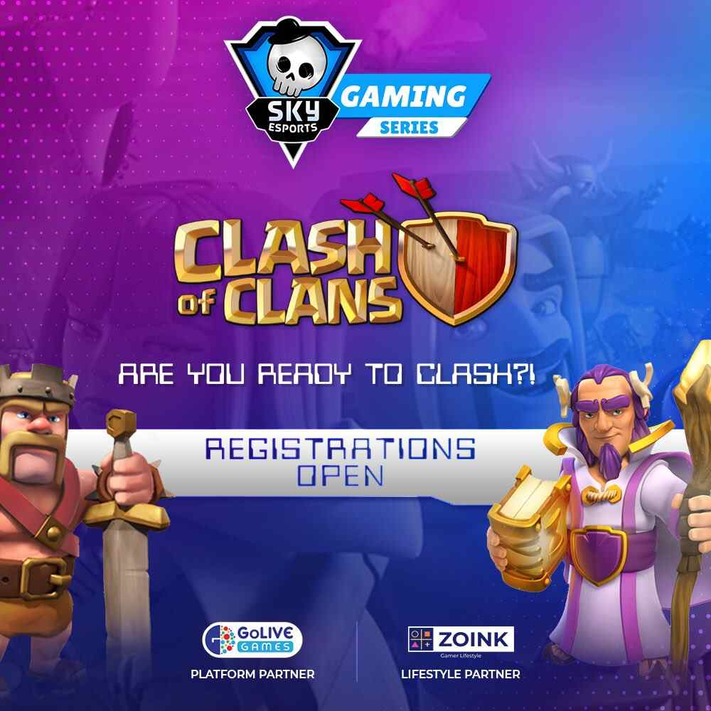 Skyesports Gaming Series: Clash of Clans