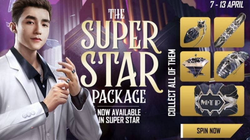 free fire super star package
