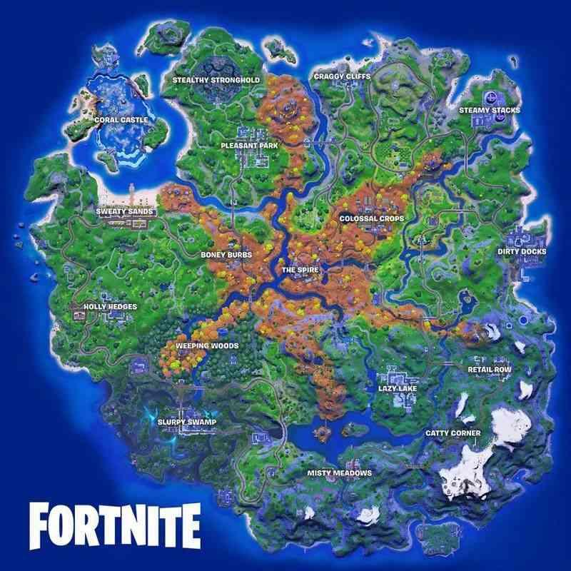 Safe locations in Fortnite Season 6 Challenge