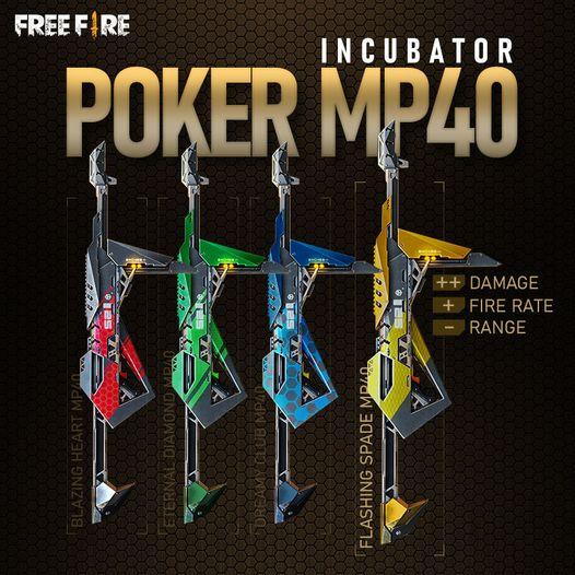 Poker MP40 in Free Fire
