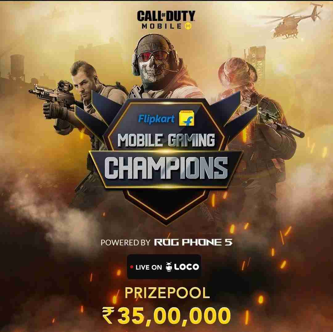 COD Mobile Gaming Champions Tournament
