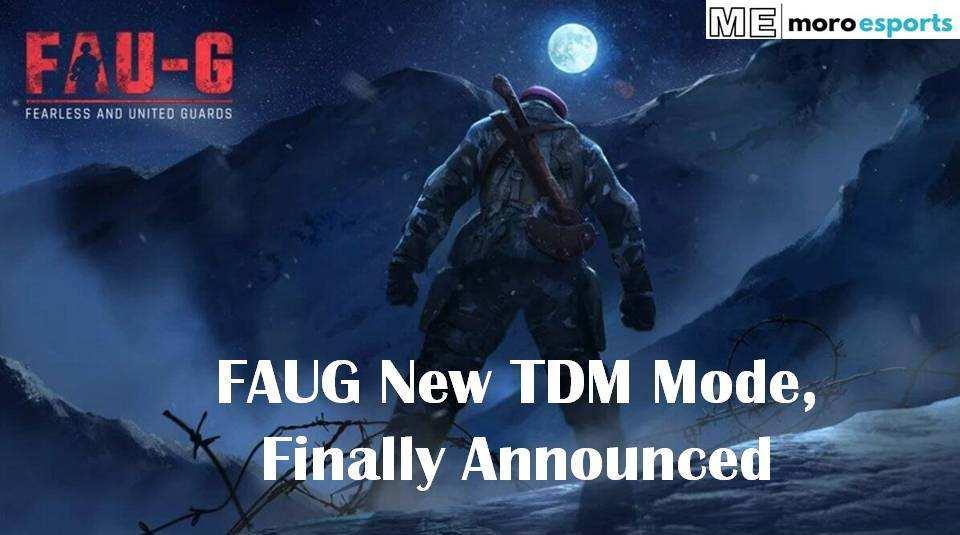 FAU-G TDM Mode Announced