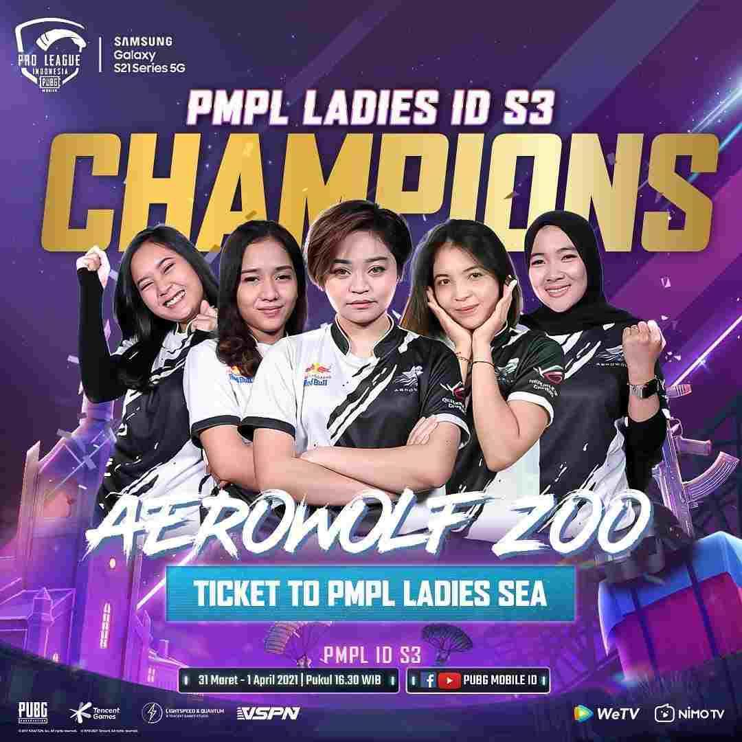 PMPL Ladies Indonesia Season 3
