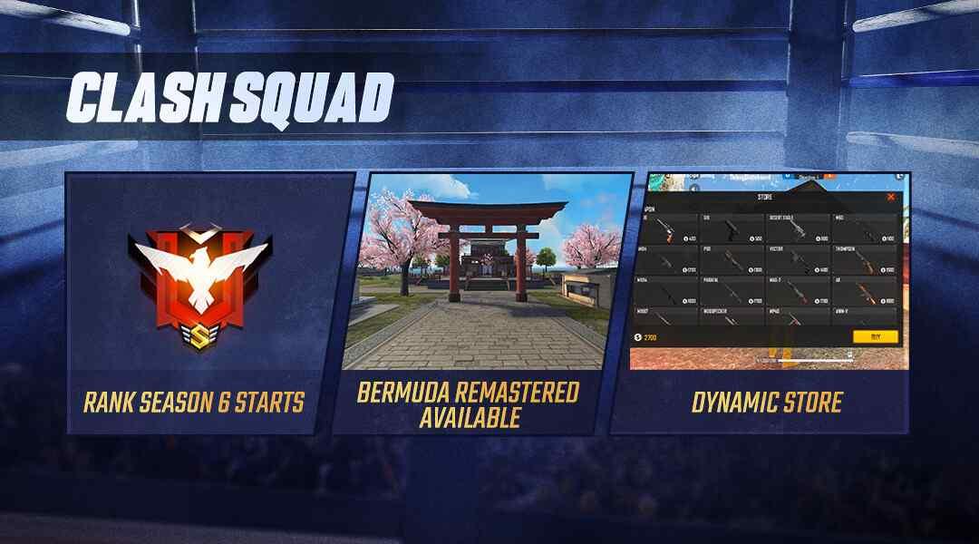 Free Fire Clash Squad