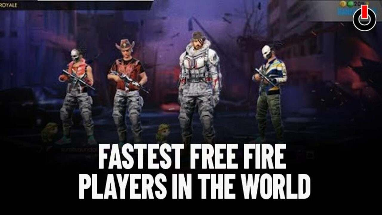 5 Fastest Free Fire Players