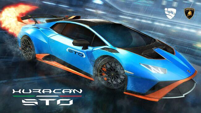 Lamborghini Huracán STO in Rocket League