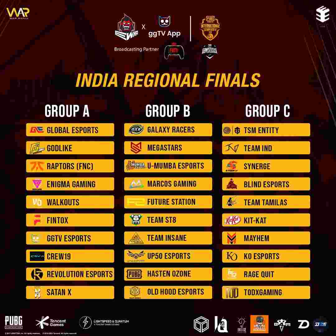 PMIC 3.0 India Regional Teams