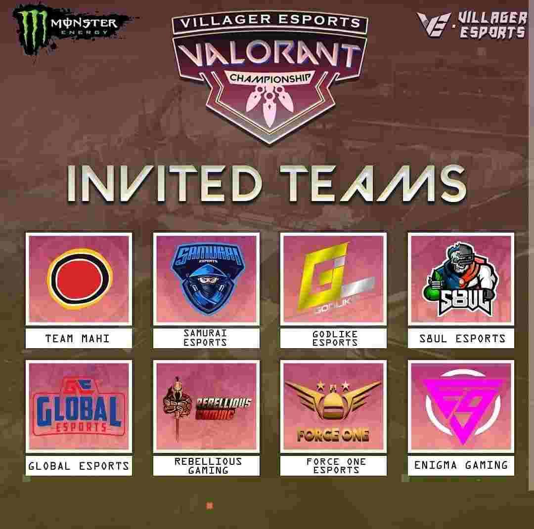 VE Valorant Championship Invited Teams