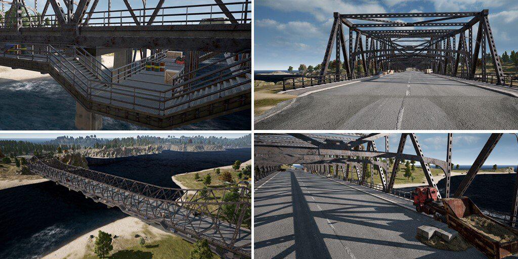 PUBG: Erangle Bridges