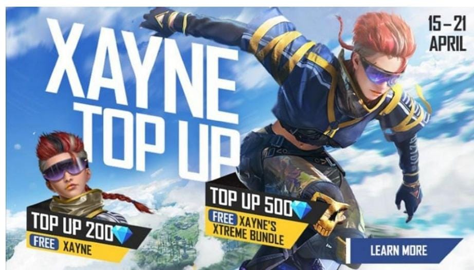 Xayne featured in Free Fire