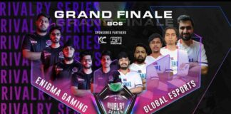 Enigma Gaming Crowns the Lethal Esports India Rivalry Series 3