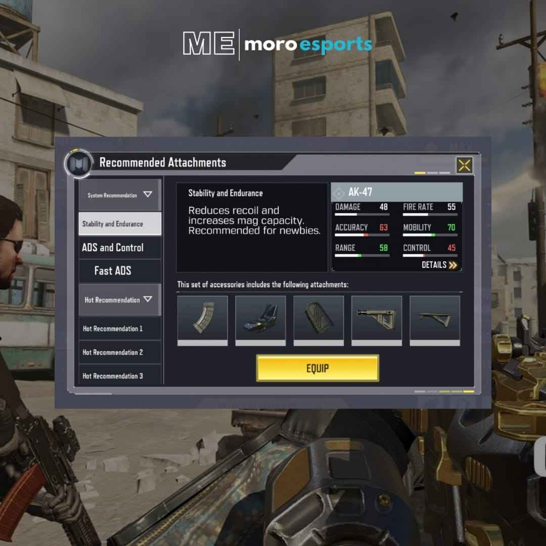 Best  Gun Attachments in Call of Duty Mobile Multiplayer