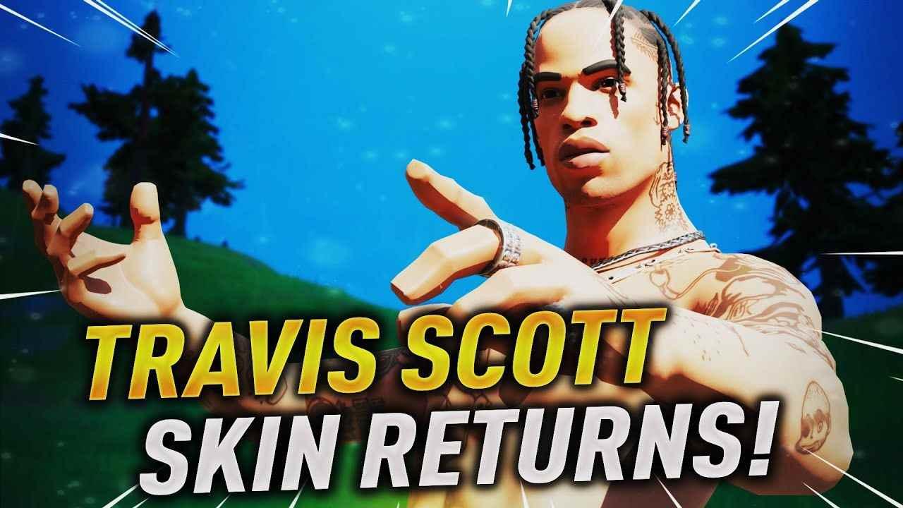 Travis Scott Return