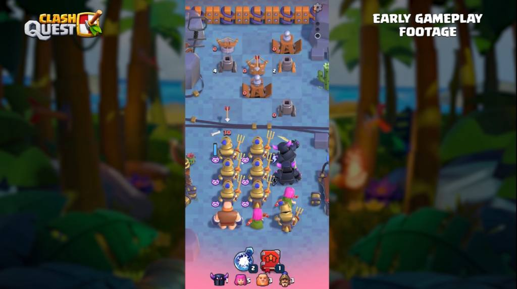 three brand new Clash Games