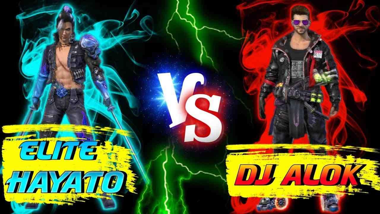 DJ Alok vs Elite Hayato Free Fire