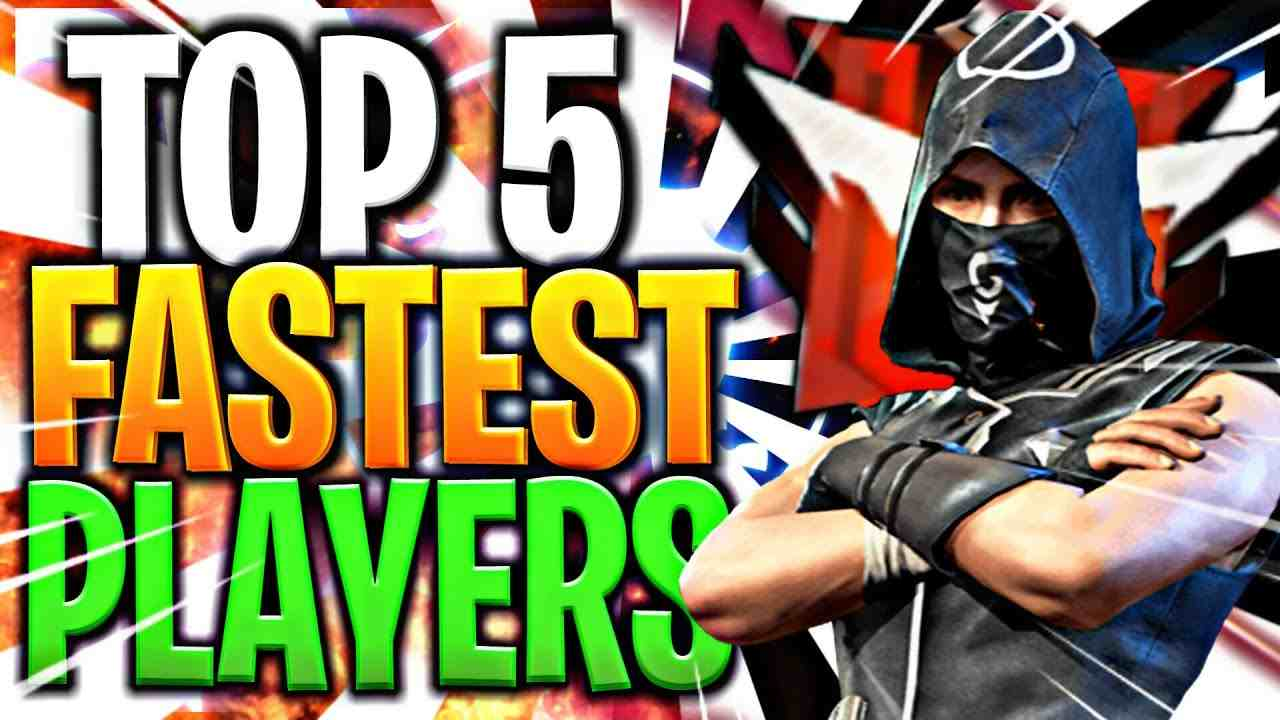 Top 5 Fastest Players