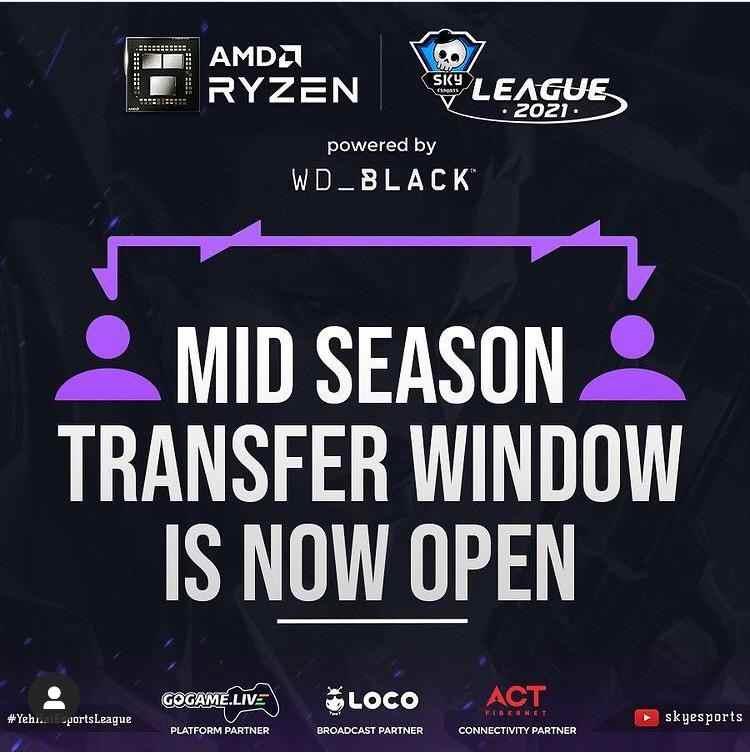 AMD Ryzen Skyesports League
